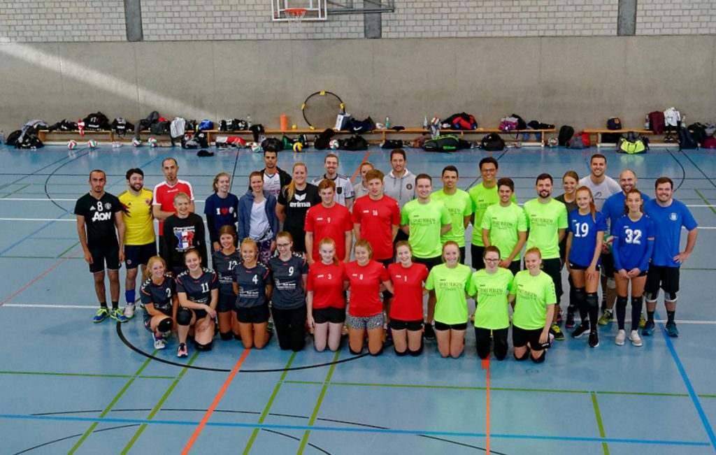 Teams des Hobby-Mixed-Turniers am 03.10.2019
